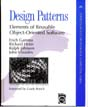 Cover of Design Patterns - elements of reusable Object-Oriented Software