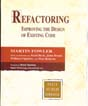 Cover of Refactoring - improving the design of existing code